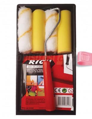 RICH - Rich Rulo Fırça Seti - 5 Parça