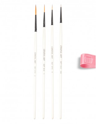 CENOVA - Cenova Fırça Seti - Set S10 - Karma 4 lü (1)