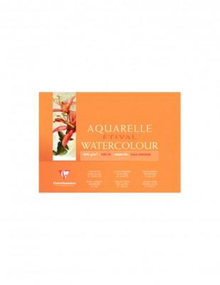 CLAIREFONTAINE - Clairefontaine Aquarelle Etival Watercolour Paper Grain Fin, Cold Press, 24 x 32 cm - 30 Yaprak