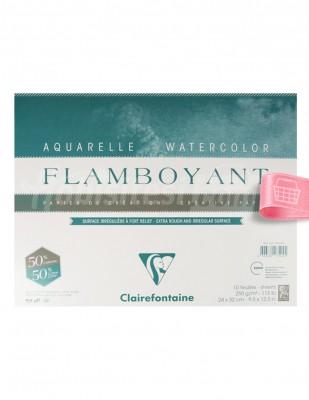 CLAIREFONTAINE - Clairefontaine Sulu Boya - Eskiz Defteri - 24 x 32 cm, 10 Yaprak