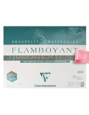 CLAIREFONTAINE - Clairefontaine Sulu Boya - Eskiz Defteri - 31 x 41 cm, 10 Yaprak