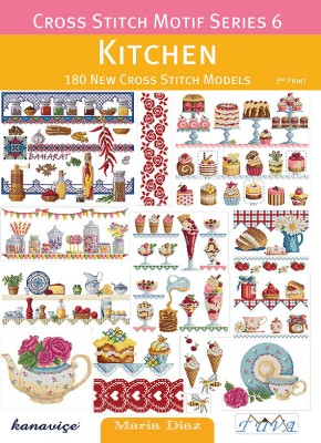 TUVA - Cross Stitch Motif Series 6: Kitchen