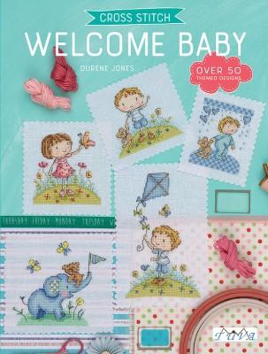 TUVA - Cross Stitch Welcome Baby