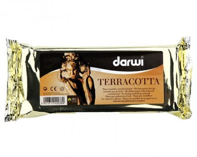 DARWI - Darwi Seramik Hamuru - 250 Gr - Terracotta