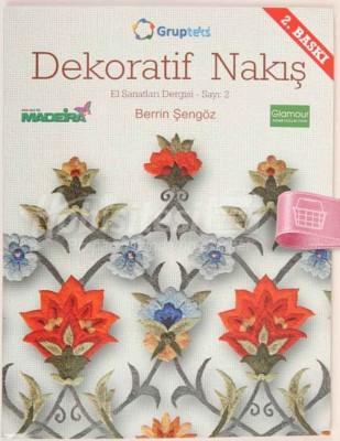 KAPLAN YAYINLARI - Dekoratif Nakış - El Sanatları Dergisi - Sayı 2