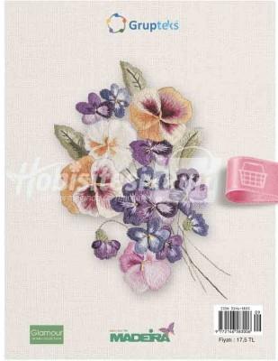 KAPLAN YAYINLARI - Dekoratif Nakış - El Sanatları Dergisi - Sayı 9 (1)