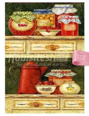 - Dekupaj Kağıdı - 35 x 45 cm Takribi - DP137