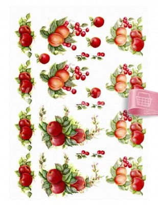 - Dekupaj Kağıdı - 35 x 45 cm Takribi - DP141