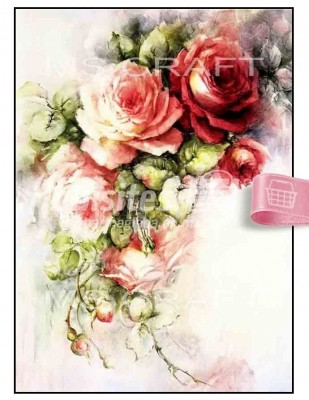 - Dekupaj Kağıdı - 35 x 45 cm Takribi - DP155
