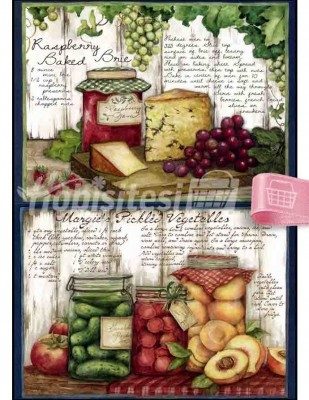 - Dekupaj Kağıdı - 35 x 45 cm Takribi - DP167
