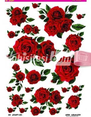 - Dekupaj Kağıdı - 35 x 45 cm Takribi - DP181