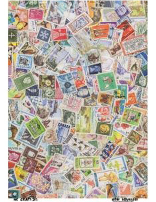 - Dekupaj Kağıdı - 35 x 45 cm Takribi - LSD35