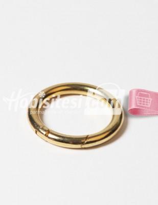 - Metal Halka - Yaylı - Altın - Ç: 5,5 cm