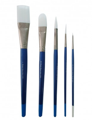 - Desen Artist Brush Çok Amaçlı Fırçalar - Akrilik ve Suluboya - Set 4