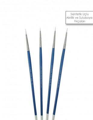 - Desen Artist Brush - Sentetik Uçlu Akrilik ve Suluboya Fırçaları