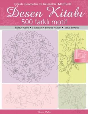 TUVA - Desen Kitabı - 500 Farklı Motif - 2013/01
