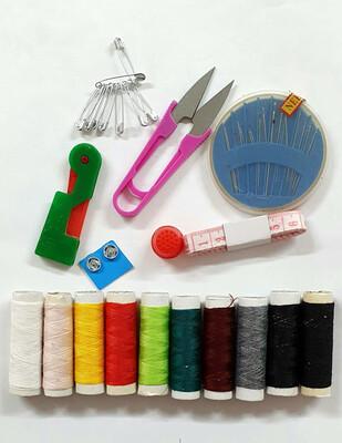 - Dikiş Seti , Çantalı - Farklı Renklerde (1)