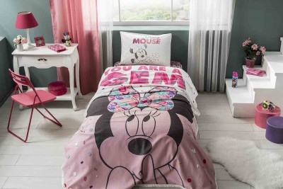 - Disney Minnie Diamond Pike Seti - Tek Kişilik