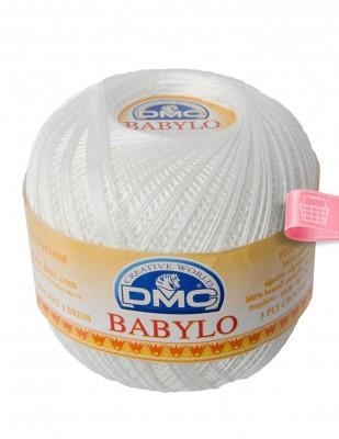 DMC - DMC Babylo Dantel İpliği - No: 5 - 100 gr - Blanc