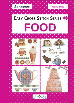 TUVA - Easy Cross Stitch Series 3: Food