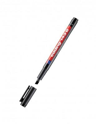 EDDING - Edding 143 B Permanent Pen - 1-3mm - Siyah