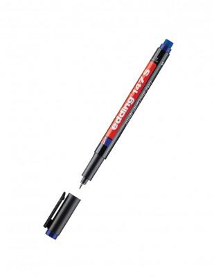 EDDING - Edding 147 S Multi Purpose Pen, Silgili - 0.3 mm - Mavi