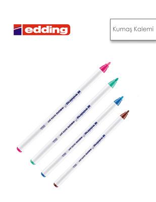 - Edding 4600 Tekstil Kalemleri, Kumaş Boyama Kalemleri - Farklı Renk Seçenekleriyle