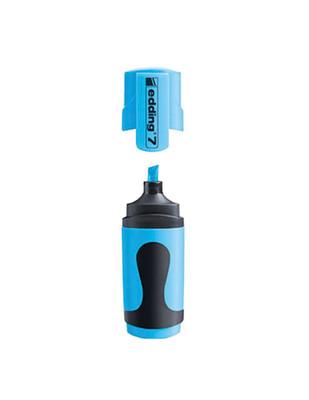 - Edding 7 Mini Fosforlu Kalem - 063 Neon Mavi