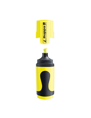 - Edding 7 Mini Fosforlu Kalem - 065 Neon Sarı