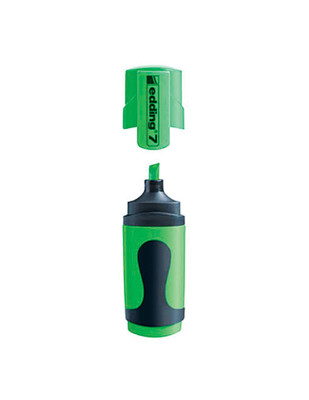 - Edding 7 Mini Fosforlu Kalem - 064 Neon Yeşil