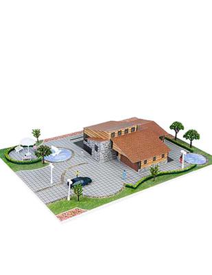 - Eshel 3D Üç Boyutlu Puzzle - Ahşap Villa - Öğren, Yap, Eğlen
