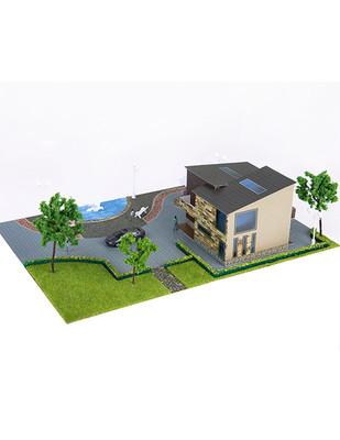 - Eshel 3D Üç Boyutlu Puzzle - Antik Villa - Öğren, Yap, Eğlen (1)