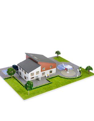 - Eshel 3D Üç Boyutlu Puzzle - Kuzey Villa - Öğren, Yap, Eğlen