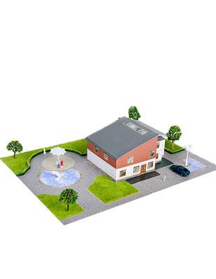 - Eshel 3D Üç Boyutlu Puzzle - Kuzey Villa - Öğren, Yap, Eğlen (1)