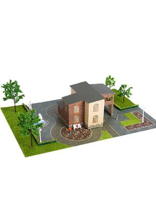 - Eshel 3D Üç Boyutlu Puzzle - Tuğla Villa - Öğren, Yap, Eğlen (1)