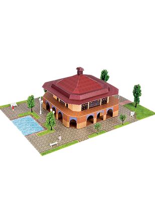 - Eshel 3D Üç Boyutlu Puzzle - Yazlık Köşk - Öğren, Yap, Eğlen
