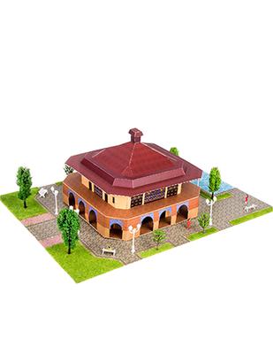 - Eshel 3D Üç Boyutlu Puzzle - Yazlık Köşk - Öğren, Yap, Eğlen (1)