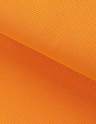 - Etamin - Orange - En 150 cm