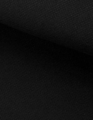 Etamin Kumaş - Siyah - En 150 cm