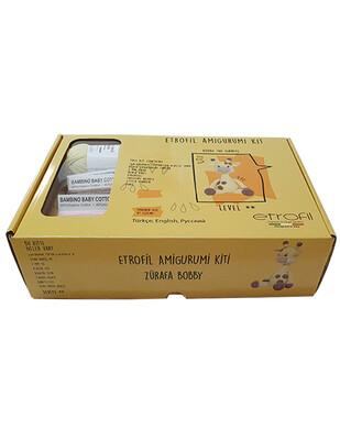 ETROFİL - Etrofil Amigurumi Yapım Seti - Zürafa