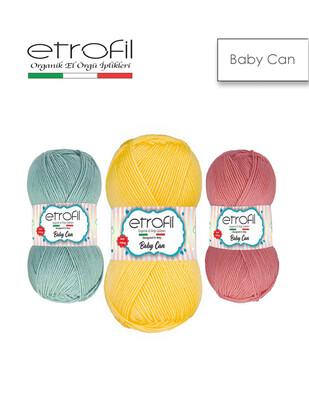 ETROFİL - Etrofil Baby Can El Örgü İplikleri