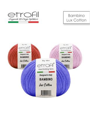 ETROFİL - Etrofil Bambino Lux Cotton El Örgü İplikleri