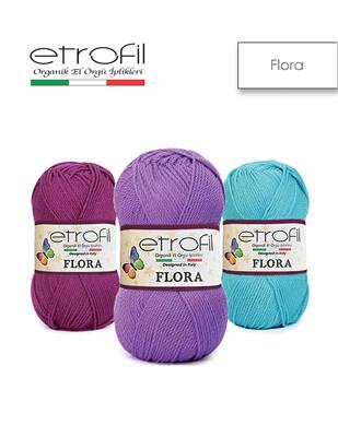 ETROFİL - Etrofil Flora El Örgü İplikleri