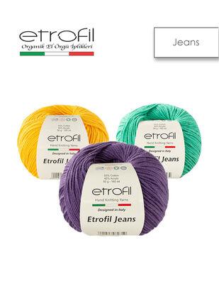 Etrofil Jeans El Örgü İplikleri
