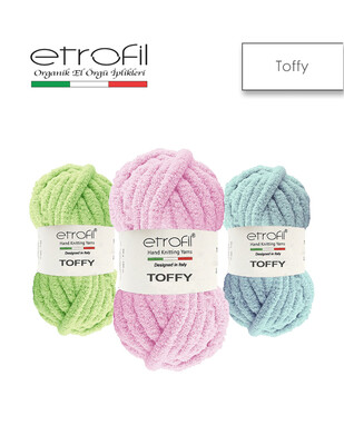 ETROFİL - Etrofil Toffy El Örgü İplikleri