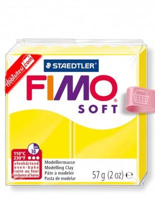 FIMO - Fimo Soft Polimer Kil - Hamur - 10 Lemon - 57 gr