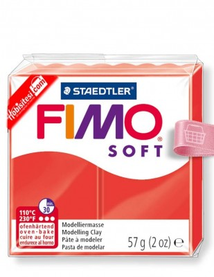 FIMO - Fimo Soft Polimer Kil - Hamur - 24 Indian Red - 57 gr