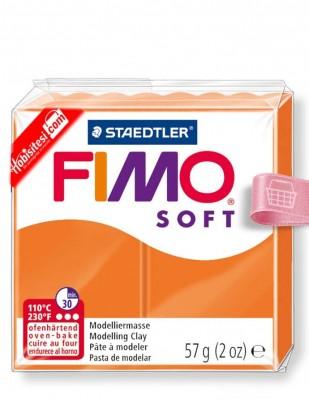 FIMO - Fimo Soft Polimer Kil - Hamur - 42 Tangerine - 57 gr