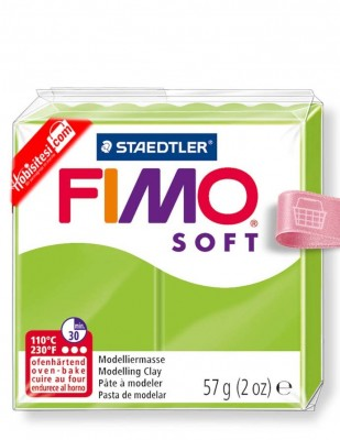 FIMO - Fimo Soft Polimer Kil - Hamur - 50 Apple Green - 57 gr