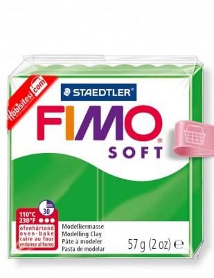 FIMO - Fimo Soft Polimer Kil - Hamur - 53 Tropical Green - 57 gr